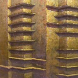 Senza titolo 100x160cm olio su tela 2011 Roma