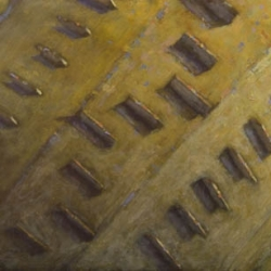 Edificio olio su tela150x60cm 2011