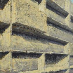 Struttura 100x150cm olio su tela 2012 Roma