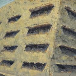 Uscita 100x150cm olio su tela 2012 Roma