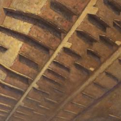 Ritmo 110x200cm olio su tela 2011 Roma