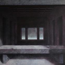 L'ultima cena 124,5x184,5cm olio su tela 2015 Roma