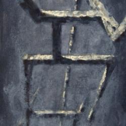 Struttura olio su tela 60x30cm 2014