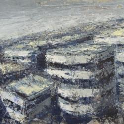 Strutture dall'alto 40x60cm olio su tavola 2013