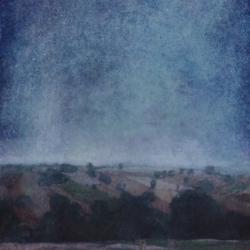 Paesaggio 120x50cm olio su tela 2017