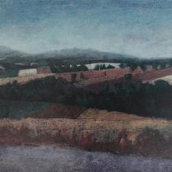 Paesaggio 50x70cm olio su tela 2017